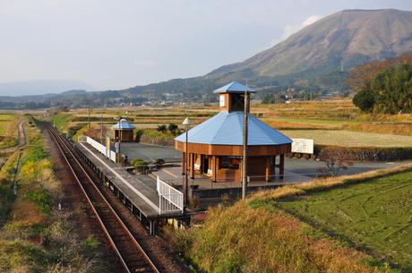 熊本県南阿蘇鉄道白川水源駅