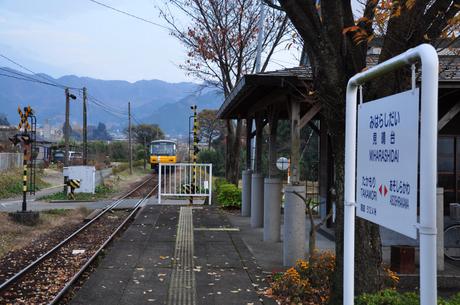 熊本県南阿蘇鉄道見晴台駅