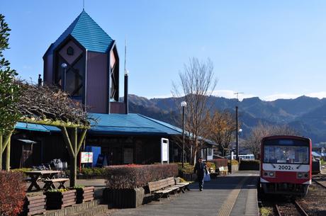 熊本県南阿蘇鉄道高森駅写真