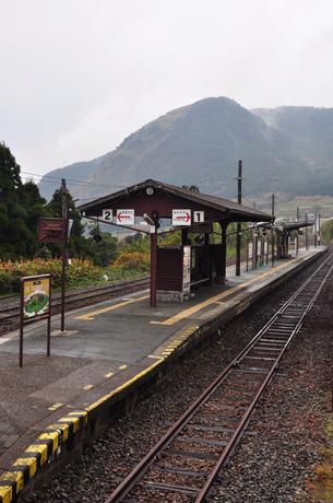 熊本県南阿蘇鉄道立野駅