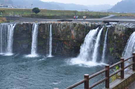 大分県道の駅原尻の滝画像ちゃんねる