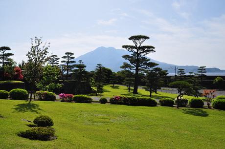 鹿児島県鹿児島市仙巌園デジカメ写真