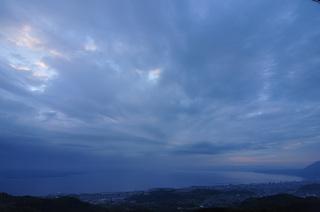 大分県別府早朝の鉄輪温泉画像