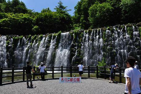 山梨県忍野花の都公園写真