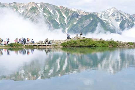 唐松岳登山