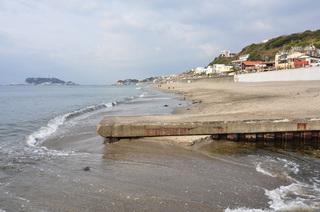 神奈川県由比ガ浜海岸