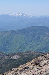 群馬県日光白根山登山画像