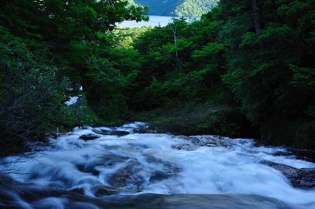 栃木県奥日光竜頭の滝写真