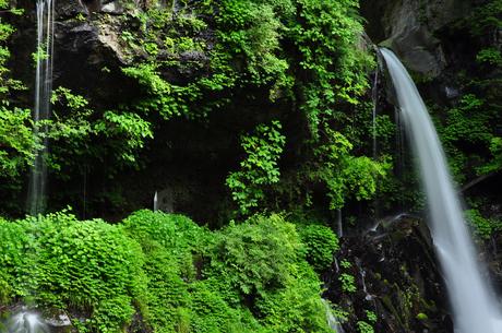 栃木県日光裏見の滝写真