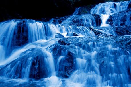 魚止めの滝レタッチ写真現像