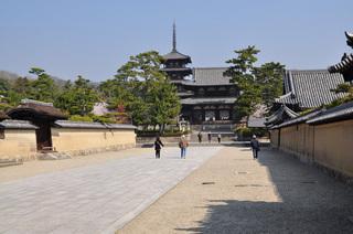 奈良県法隆寺写真