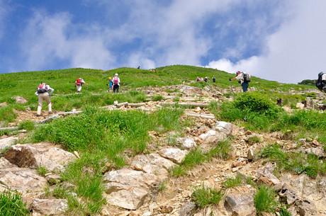 群馬県谷川岳登山写真