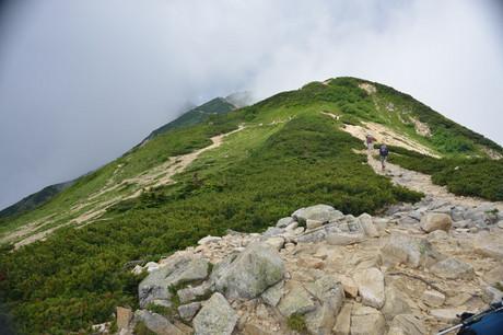 長野県白馬唐松岳登山