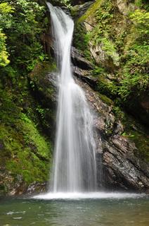 高知県四万十川追合滝画像