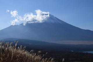 山梨県山中湖富士山画像